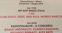 Baglioni a Milano per Radio Italia Live