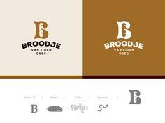 BROODJE - A Collection of Simple and Creative Logo Designs by Jeroen van Eerden