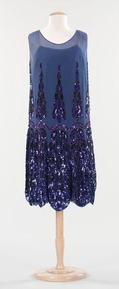 Evening Dress, Anne & Thérèse (French): ca. 1925