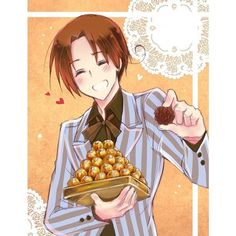 (662) Happy Hetalia Valentines Day | APH | Pinterest italy aph hetalia ❤ liked on Polyvore featuring anime
