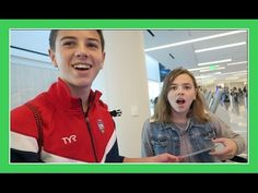 BRENNAN WINS AIRPORT CHECK IN   Flippin' Katie - YouTube
