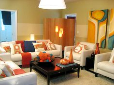 Modern Living Room Decorating Pictures For