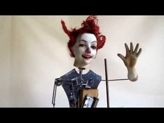 Automaton Clown, late 19th century.
