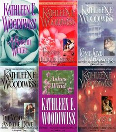 Any book by Kathleen Woodiwiss ~Who doesn't love a great love story?