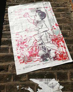 By @wearefatherless  #fashionstreet #london #streetart #londonstreetart #streetartistry #streetartlondon #graffiti #pasteup #pasteupart #eastlondon #urbanart #pasteupartist #wallfilth #streetartofficial #wearefatherless #ukstreetart #capturinglondon