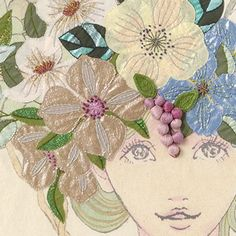 ♒ Enchanting Embroidery ♒ Yumiko Higuchi - exquisite embroidery