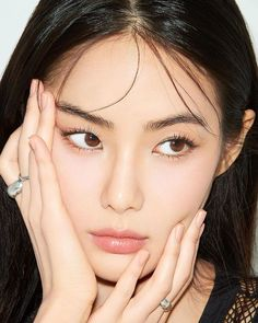 Makeup Inspo, Makeup Art, Beauty Makeup, Eye Makeup, Hair Makeup, Korean Makeup, Korean Beauty, Asian Beauty, Portrait Inspiration