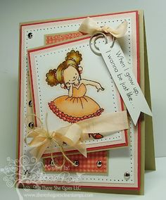 When I Grow Up-Peach Fizz Vintage Seam Binding and Natural Jute Twine