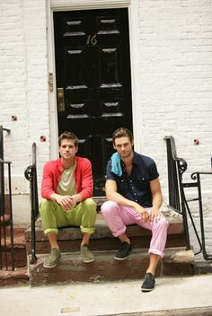 Antony Jerram & Glen Herder for Scott James Spring 2012 // YUM
