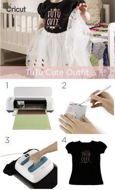 This DIY by Cricut is tutu cute! Shop Cricut™ supplies, tutus and tees!