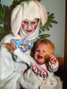 This creepy bunny makes me cry too!