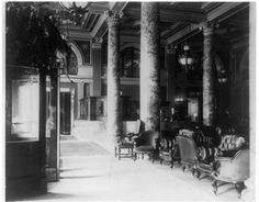 Lobby, Willard Hotel