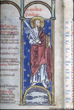 Psalter-Hours, MS M.94 fol. 1v - Images from Medieval and Renaissance Manuscripts - The Morgan Library & Museum