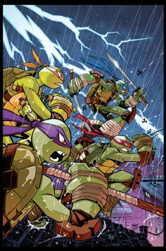 TMNT Amazing Adventures 2 COVER by Red-J on DeviantArt