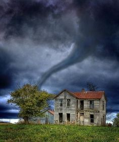 Tornado, The Ozarks, Missouri photo via Lesley