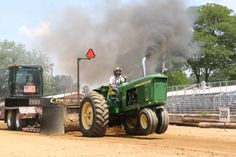 Tractor Pulls at the Fair