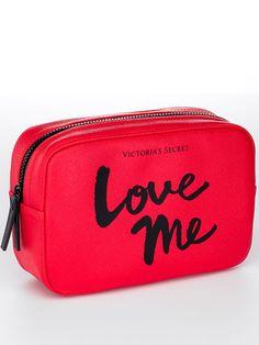 Love Me Square Cosmetic Bag Victoria