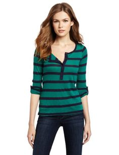 Splendid Women`s 2 Color St Henley Shirt for only $34.19 You save: $39.81 (54%) + Free Shipping
