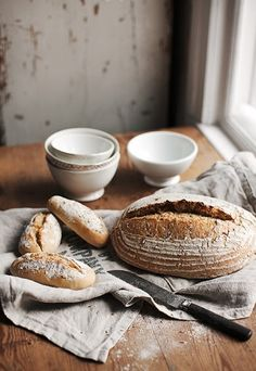 Wholegrain Bread http://madeinpersbo.blogspot.com If you are going to eat bread, eat whole grain bread. Your body has to work harder to break it down so it keeps you full longer. It is less processed, and has more fiber as well as other benefits too.