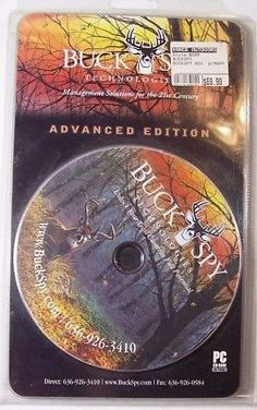Buck Spy Technologies Advanced Edition Software for Trail Cam Photos Vintage
