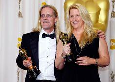 """Per Hallberg e Karen Baker Landers hanno vinto per """"Skyfall"""" l'Oscar per il miglior montaggio sonoro (ex aequo con """"Zero Dark Thirty"""")"""