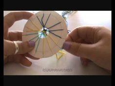 Como hacer pulsera de hilo redonda (round wire bracelet) - YouTube