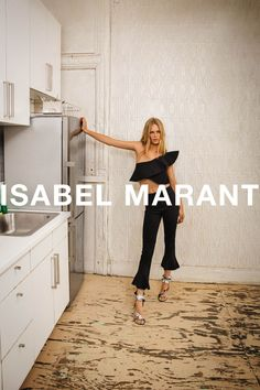 Spring 2017 Ad Campaigns - Fashion Campaigns Spring 2017    Anna Ewers for Isabel Marant