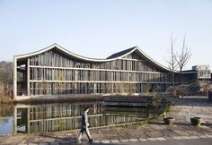 Wang Shu: Campus Hangzho. Traditional culture interpreted in a contemporary manner.