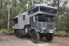 The 'Wothahellizat' Mk2 is a 38-year-old army truck. Rob and Chris bought the truck in 1997 and spent three years turning it into Australia's largest and weirdest off-road motor home (The wothahellizat Mk)1. Then in 2007/8 they rebuild it into a this smaller version TheWothahellizat Mk2.It's from the deck of this vehicle (yes a patio folds out from the back) that most of this diary is written, a 14-tonne editor's desk!Wothahellizat is fully self contained with enough food and water storage…