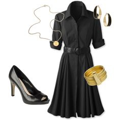 Perfect look for a busy day at the office, but still comfortable!