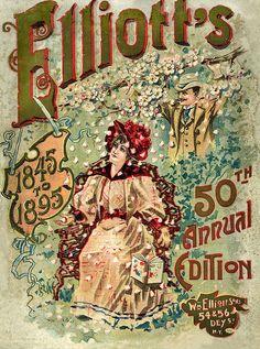 Vintage Seeds ~ Elliott's 1895