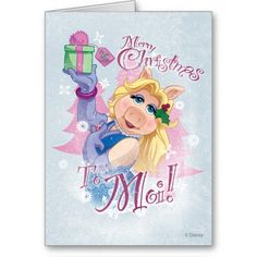 Merry Christmas to Moi Greeting Cards
