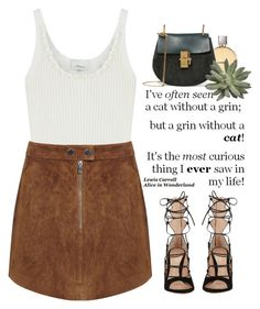 """""""- Suedine -"""" by lolgenie ❤ liked on Polyvore featuring 3.1 Phillip Lim, Miss Selfridge, Chanel, Gianvito Rossi and Chloé"""