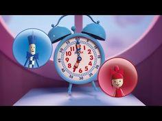 ▶ Apprends à lire l'heure avec Flik et Flak - YouTube