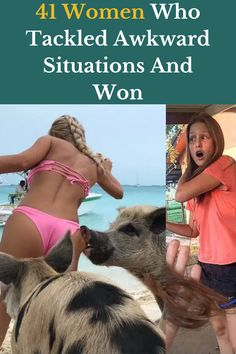 Men may struggle in life, but the life of a woman is riddled with little things that make you realize that men take their simple lives for granted. From broken ponytail holders to ill-fitting shirts, these women prove that we have awkward lives.