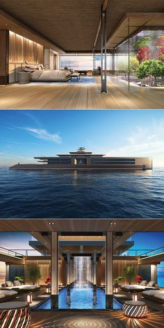 You Won't Believe This Isn't a Giant Mansion Just a 120-Meter Long Nature Yacht