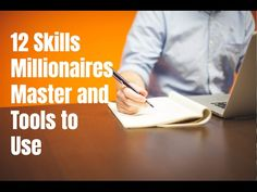 12 skills millionaires master and tools to use to be successful. Visit http://ift.tt/2k3QzCy for video notes related content and helpful resources.   Let's Connect! Twitter - https://twitter.com/MrJustinBryant  Facebook - http://ift.tt/1LQomnx  Google - http://ift.tt/1PaQTrN  In this video you'll learn about the 12 skills millionaires master and which tools you can use to make it easier. If you want to know how to become a millionaire you have to know what really makes one tick. You need to…