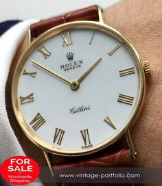 Serviced Rolex Cellini 18ct karat solid gold email dial roman indices - Unisex #rolex #timepiece #RolexOfficial #Rolexwatches #MensRolex