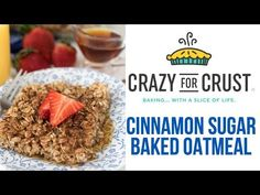 This easy Cinnamon Sugar Baked Oatmeal is the perfect healthy breakfast recipe! It's so fast and easy to make for a quick morning meal! Healthy Breakfast Casserole, Breakfast Dishes, Breakfast Recipes, Pumpkin Breakfast, Oatmeal Bars, Baked Oatmeal, Oatmeal Cookies, Oatmeal Recipes, Morning Food