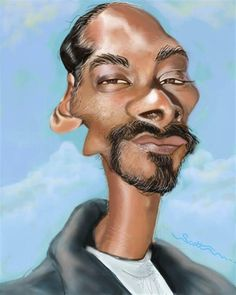 Snoop Dogg caricatures