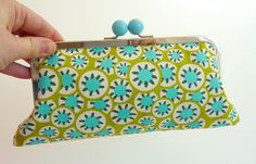 Frame purse by gypsy colours, via Flickr