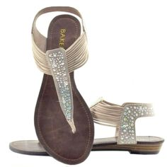 TAPLEY  Glitzy Flat Sandal <3