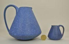 Hildegard Delius Hameln 2 Keramik Krüge/Vasen Orig. Art Deco Pottery Jugs/Vases