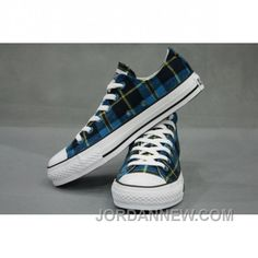 2e3657040e1b Buy Converse All Star Plaid Low Top Sneaker Blue Black Yellow Shoes from  Reliable Converse All Star Plaid Low Top Sneaker Blue Black Yellow Shoes  suppliers.