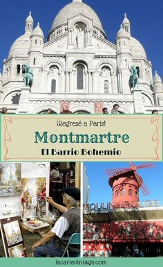 I came back to Paris! this time I visited the famous Montmartre, the bohemian quarter of Paris. Check out the top attractions in Montmartre. Europe Travel Tips, European Travel, Travel Guides, Travel Destinations, Paris Travel, France Travel, Provence, Montmartre Paris, Triomphe