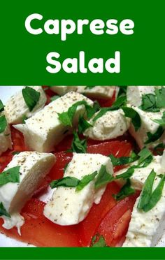 Chelsea Clinton helped Mario Batali put together a delicious Caprese Salad using fresh mozzarella and tomatoes.