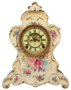 We love all of the mantle clocks in Downton Abbey. If you have a real antique, you may want to protect it under a glass display dome.