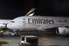 Emirates A380, Emirates Airline, Airplane Wallpaper, Airbus A380, Airports, Planes, Goal, Aviation, Aircraft