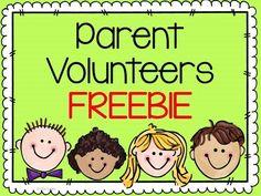 Thank you Volunteers - FREEBIE