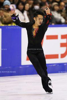 Daisuke Takahashi (JPN), .December 22, 2012 - Figure Skating : .Japan Figure Skating Championships, Men's Free Skating .at Makomanai Ice Arena, Hokkaido, Japan. .(Photo by Daiju Kitamura/AFLO SPORT) [1045]